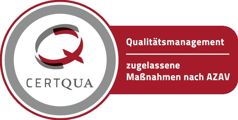 Maßnahmen zertifiziert nach AZAV