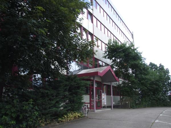 Eingang Europasternhaus