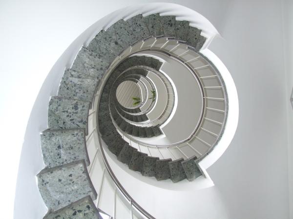 Treppe Europasternhaus
